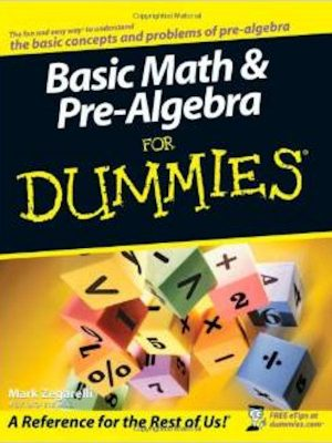 Basic Math & Pre-Algebra For Dummies – eBook