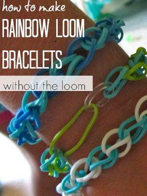 How to make Rainbow Loom Bracelets without the loom – 4 eBooks &