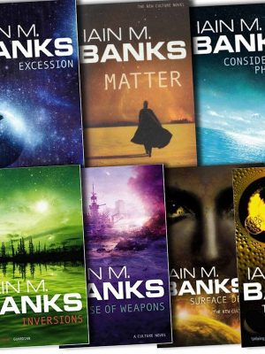 Iain M. Banks – 24 ebooks