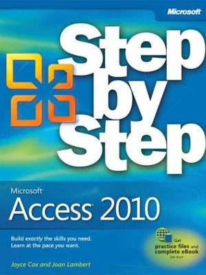 Microsoft Access 2010 (Step by Step) – eBook
