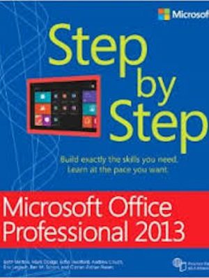 Microsoft Office 2013 (Step by Step) – 6 eBooks Collection