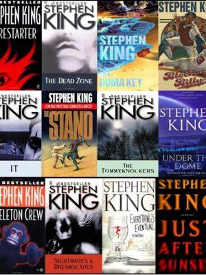 Stephen King – 116 eBooks