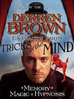 Derren Brown – (Hypnotism, Magic & Memory) – 3 Audiobooks