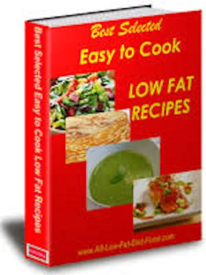 Low Fat Recipes – eBook