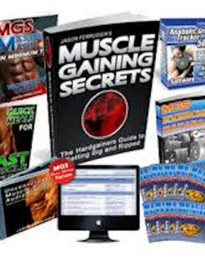 Muscle Gaining Secrets – 13 eBooks, 1 Audiobook