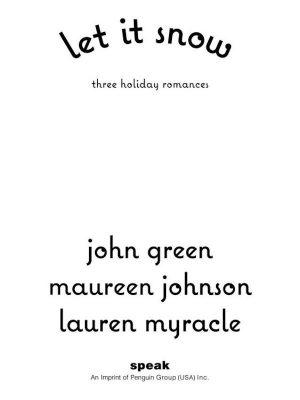 Let It Snow – John Green – eBook