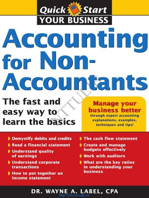 Accounting for Non-Accountants – Dr. Wayne Label – eBook