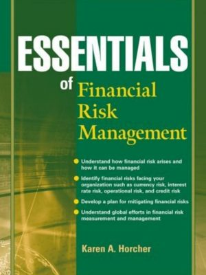 Essentials of Financial Risk Management – Karen A. Horcher – eBook