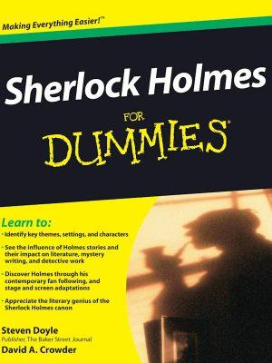 Sherlock Holmes For Dummies – Steven Doyle – eBook